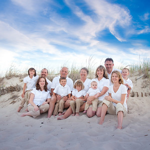 Woolson Family Beach Portrait
