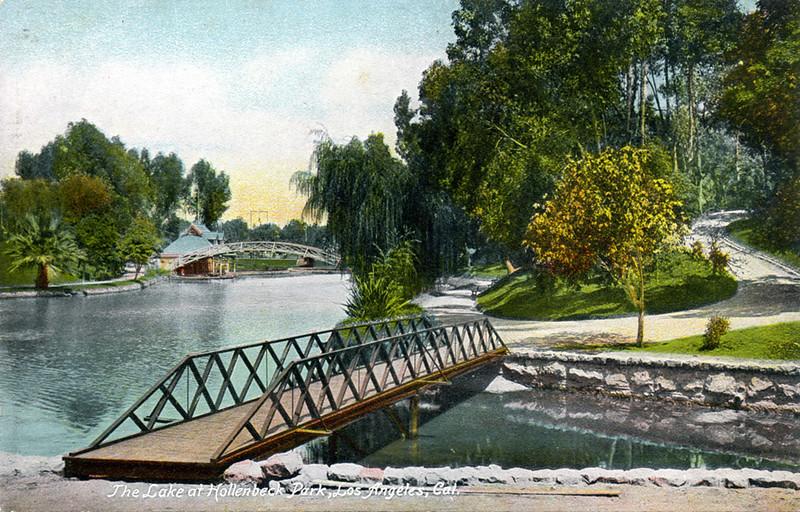 Lake at Hollenbeck Park