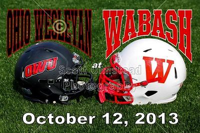 2013 OWU at Wabash (10-12-13)