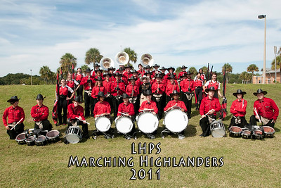 LHPS Marching Highlanders 2011