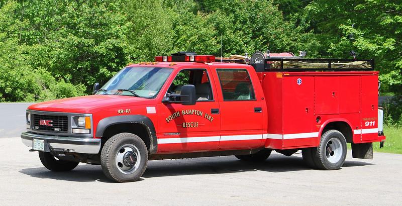Rescue 1 2000 GMC / Knapheide.  200 / 400