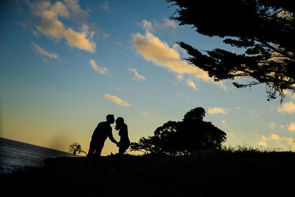 Steve Proposes to Jessica on West Cliff Drive, Santa Cruz