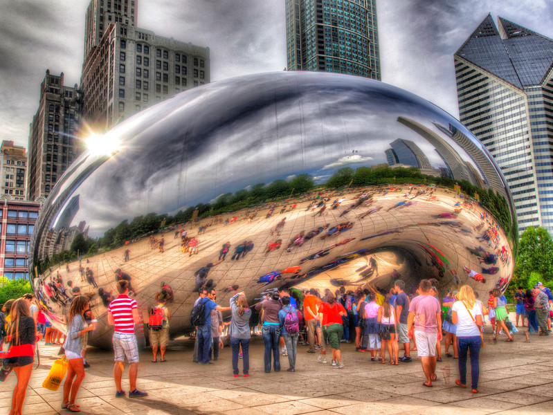 The Bean in Millenium Park
