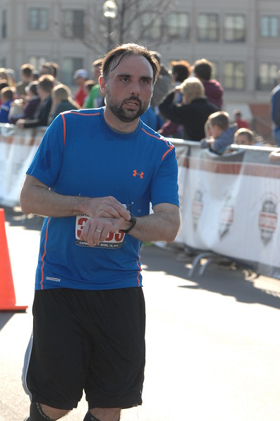 Finish - Half Marathon