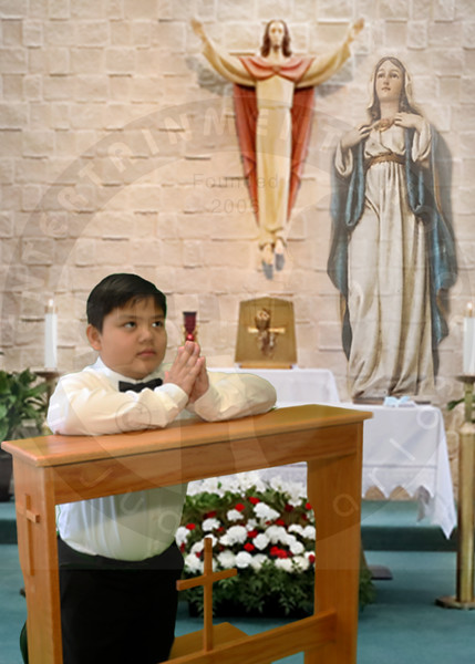 Sacred Heart First Communion 711