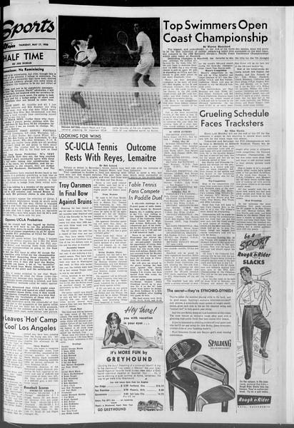 Daily Trojan, Vol. 47, No. 136, May 17, 1956
