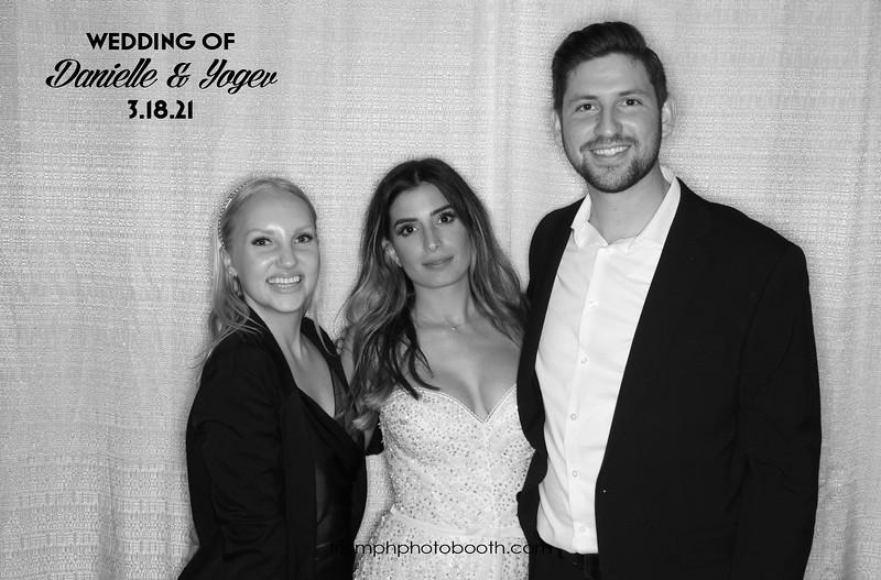 3/18/21 - Danielle & Yogev Wedding