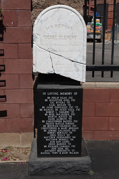 2010, Clement Tombstone at Cathedral High