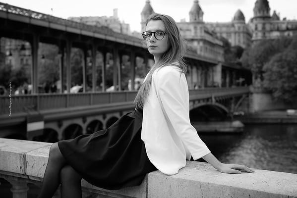 Cécile H, Bir Hakeim, Un Jour D' Avril 2017