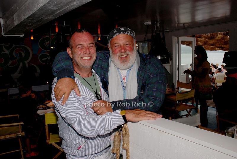 Hy Abady and Bruce Weber photo by Rob Rich © 2008 516-676-3939 robwayne1@aol.com