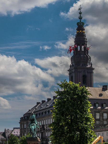 Christiansborg. Photo: Martin Bager.