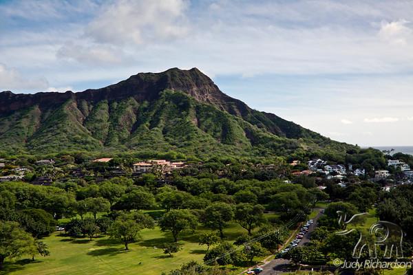 Waikiki Beach & Diamond Head Area
