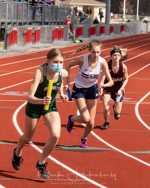 2021-04-17 Hillsdale Academy Varsity Track at Whitmore Lake Invite