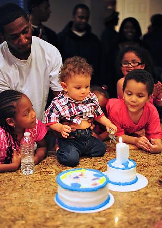 Benny's First Birthday