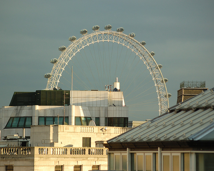 The Eye and the Roofs of Westminster