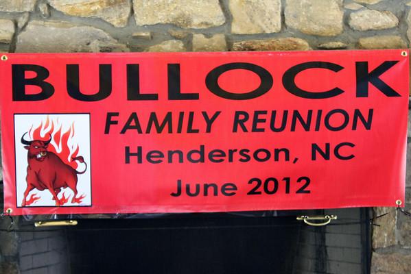 Bullock Family Reunion 2012