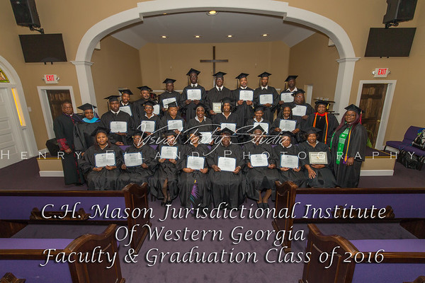 C.H. Mason Jurisdictional Institute Of Western Georgia 2016