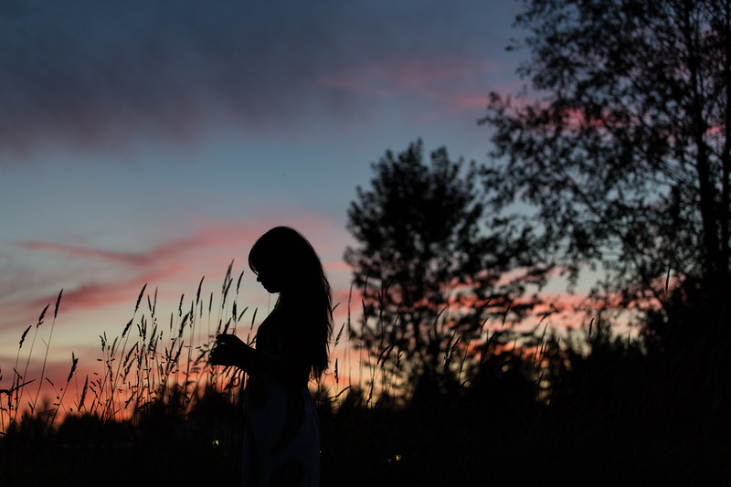 Evening Sillouet