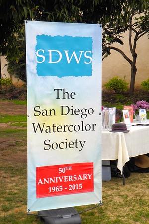 SDWS 3/21/15 Paintout at Balboa Park