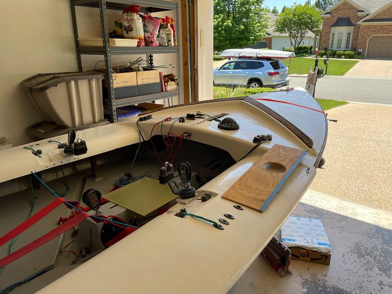 Templating New Mast Step