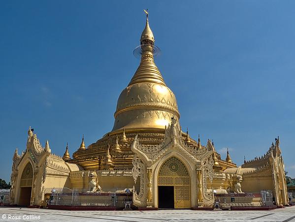 Maha Wizaya Pagoda 2015