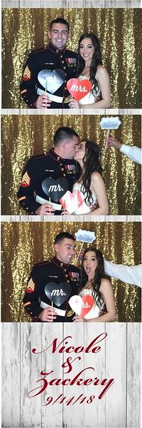 Nicole & Zackery's Wedding Photo Booth