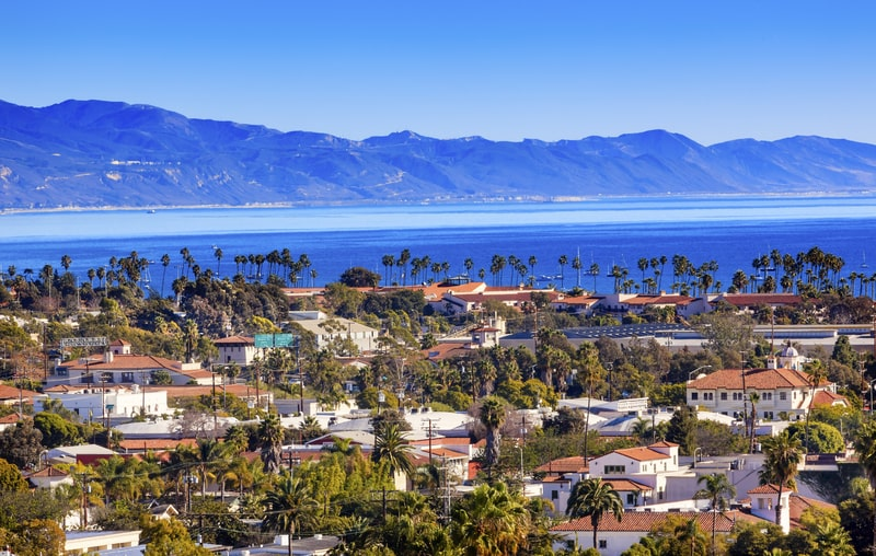 santa barbara for day trip from los angeles