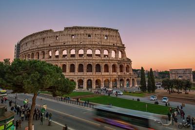 Colosseum - night