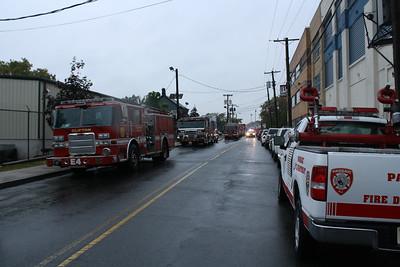 Passaic Fire Department USAI Foam Drill 10-11-14