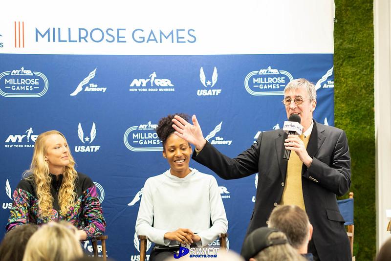 NYRR Millrose Games Press Conference (2.7.2020)
