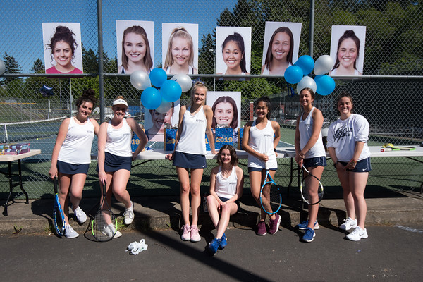 2019 Girls Varsity Tennis vs. Parkrose