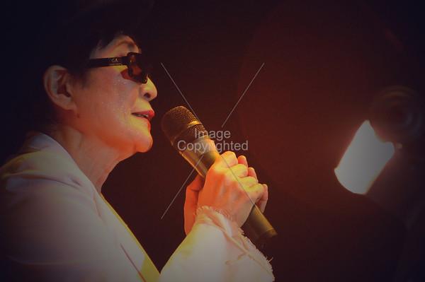 Yoko Ono & The Plastic Ono Band, New Years Eve Freakout 5, Dec.31,2011, Oklahoma City