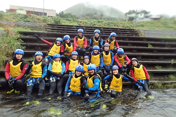 Grade 8 Rafting Expedition Shinano River, Nagano