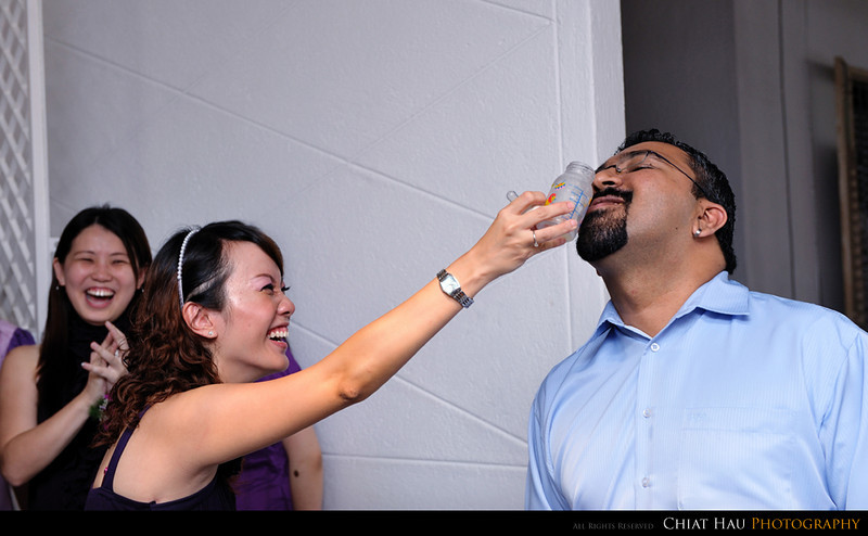 """Deepak is the lucky one who get the final drop feeding from Jael. :""""P"""