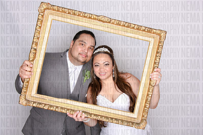 Sharon and PK's Photo booth