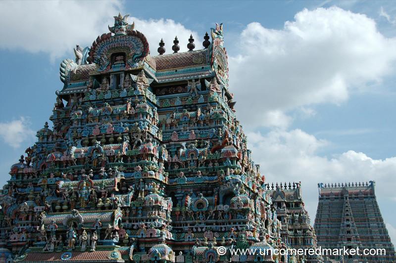Sri Ranganathaswamy Temple: Trichy, India