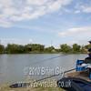 Playing carp. Brian Gay fishing the Pellet Waggler at Trinity Waters, Woodland Lake, 280510. © 2010 Brian Gay