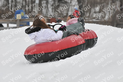 Snow Tubing 2-24-13 9-11am session
