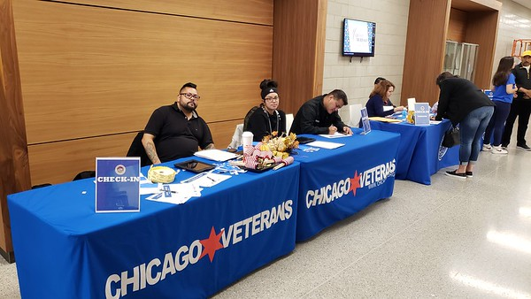 Career Fair with Cook County