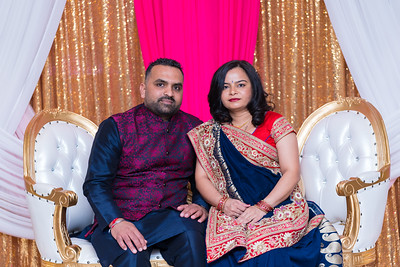 Dimpal and Krushna's Babyshower