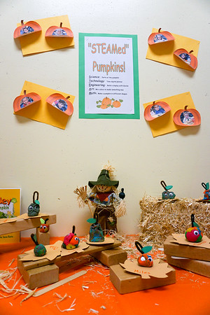 PreK STEAM Pumpkin Ramp