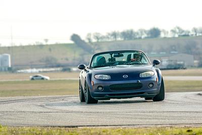 Dark Blue Mazda Miata NC