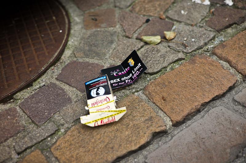 Ironie.  Frauenfeld, September 2011.