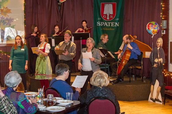 Celebrate Bach's Birthday: MEMF 2018 Fundraiser