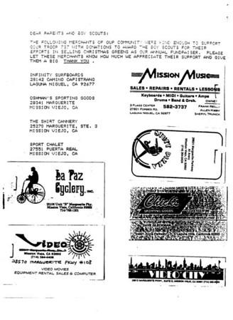 1991 - Troop Talk