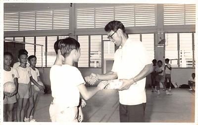 1974  Volleyball basketball