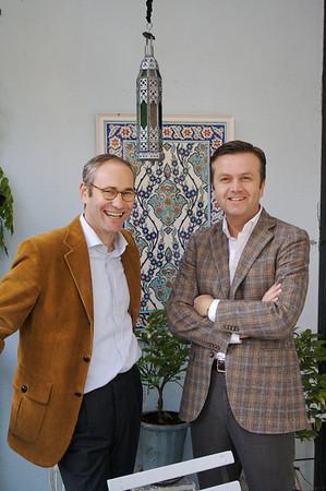 Thuis bij… Robert Schreuder & Frits van den Bos