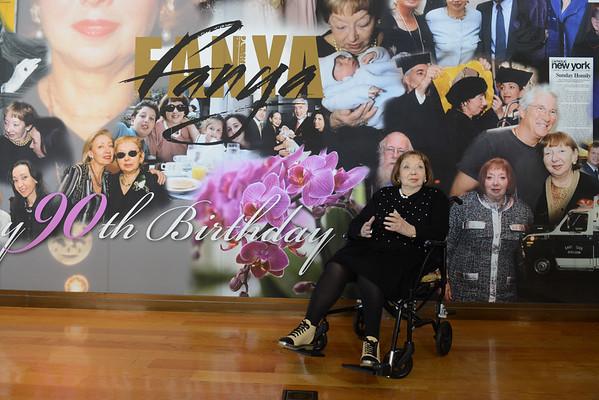 FANYA 90th Birthday