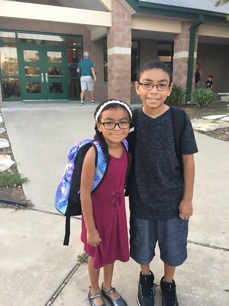 Naomi and friend | 1st | Steiner Ranch Elementary School
