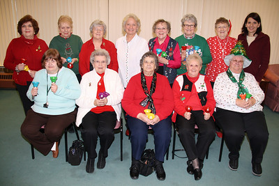 Handbell Choir, Older and Bolder, Salvation Army, ABC Hi-Rise, Tamaqua (11-30-2011)